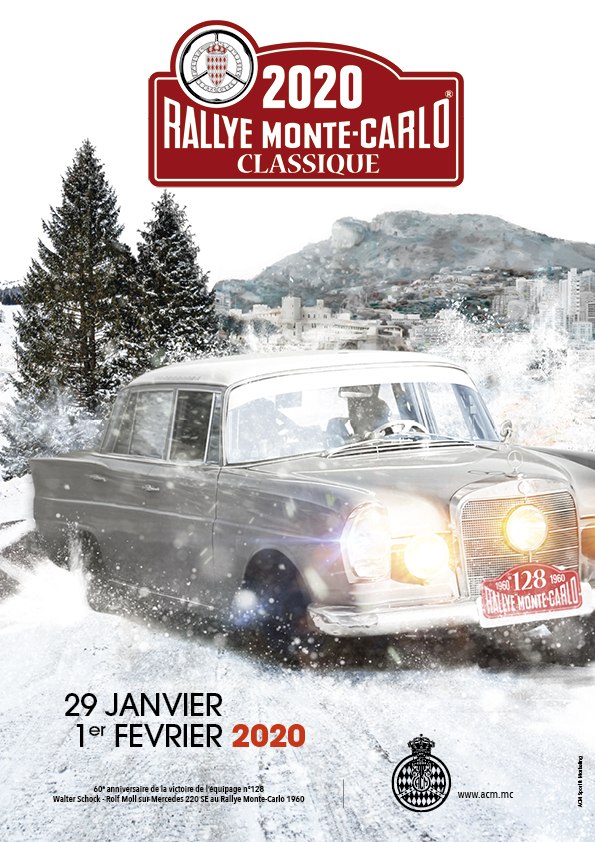 4th Monte-Carlo Classic Rally