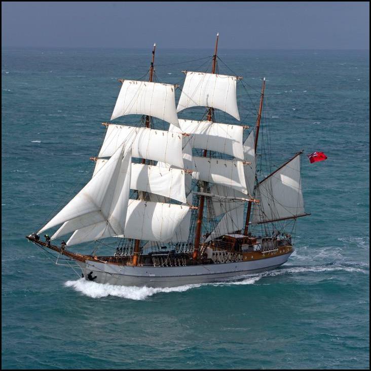 Visite du navire Le Français