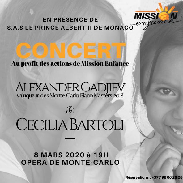 Concert au profit Mission Enfance