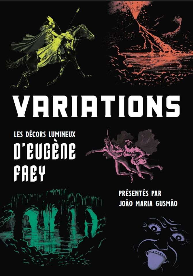 Variations, Eugène Frey's Light Set Projections