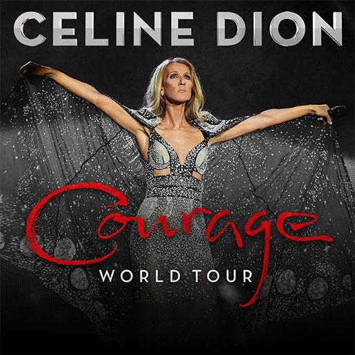 Céline Dion at the Place du Casino