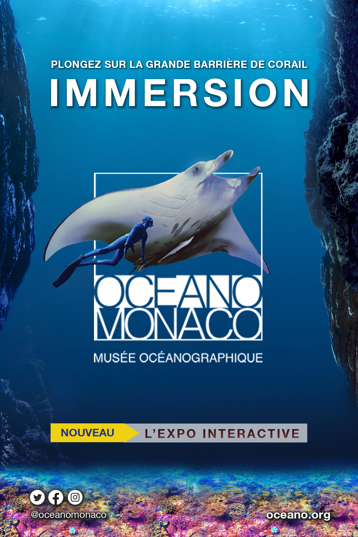 """Exposition interactive """"Immersion"""""""