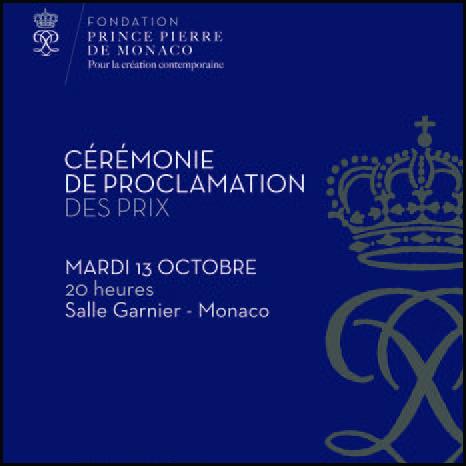 Cérémonie de proclamation des Prix de la Fondation Prince Pierre